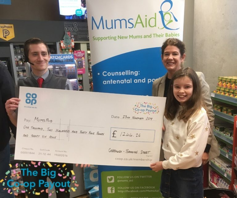 Co-op Local Community Fund - MumsAid